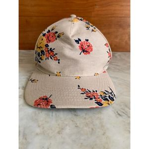 OBEY Propaganda tan floral trucker hat